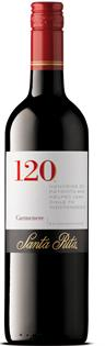 Santa Rita Carmenere 120 2015 750ml - Case of 12